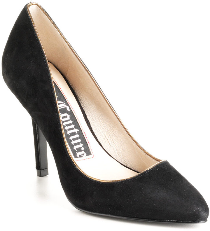 Juicy Couture Gina Suede Pumps