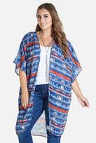 Fashion to Figure Sadie Geometric Kimono