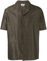 Cmmn Swdn boxy shortsleeved shirt - men - Cotton/Linen/Flax/Spandex/Elastane - 46