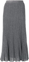 Missoni glitter pleated skirt