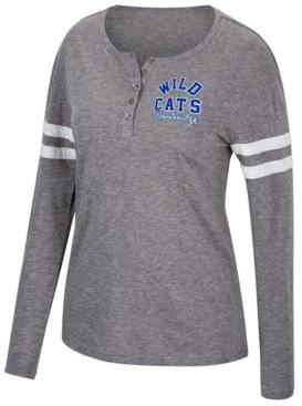 Top of the World Women's Kentucky Wildcats Henley Long Sleeve T-Shirt