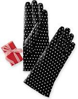 Women's Italian Polka Dot Gloves
