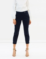 Dorothy Perkins Crop Cotton Sateen Trousers
