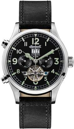 Ingersoll The Armstrong Automatic Leather Strap Watch