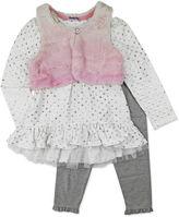 Nanette Baby Girls Legging Set-Toddler
