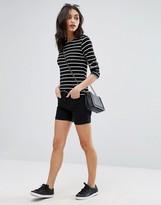 Vero Moda Highwaisted Denim Boyfriend Shorts