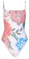 Mara Hoffman Tank Floral-printed Swimsuit