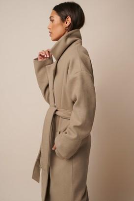 Donnaromina X NA-KD Tied Waist Coat