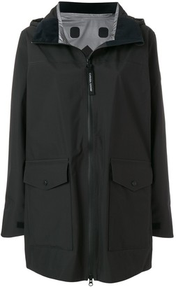Canada Goose Wolfville hooded raincoat