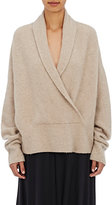 The Row Women's Fontaine Rib-Knit Cashmere Sweater-BEIGE