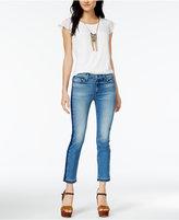 Hudson Tilda Mid-Rise Cropped Cigarette Jeans