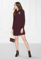 Other Stories Buttoned Dress