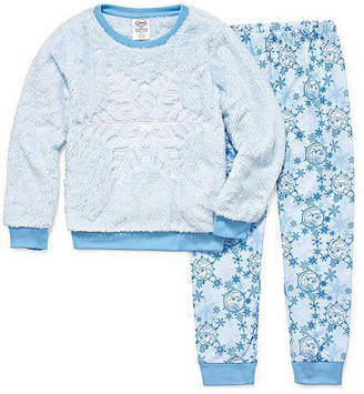 Disney Collection Girls 2-pc. Frozen Pajama Set Big Kid