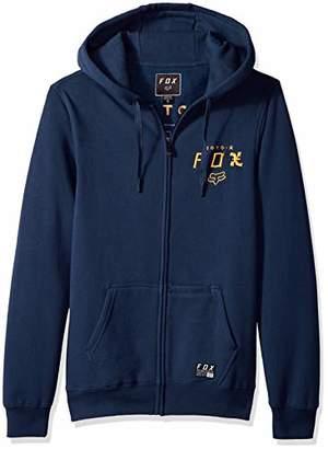 Fox Men's Darkside Zip Fleece Hooded Sweatshirt,Large