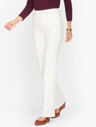 Talbots Flare Jeans - Seeded Denim