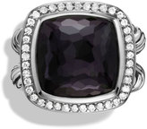 David Yurman Albion Ring with Black Orchid and Diamonds