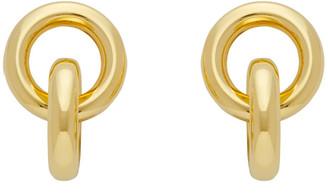 Laura Lombardi Gold Link Earrings
