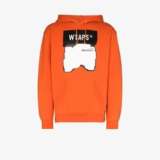 Wtaps Side Effect Logo Cotton Hoodie