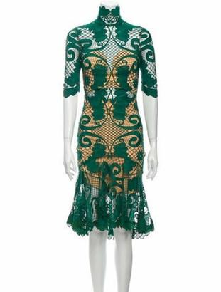 Thurley Babylon Lace Dress tan