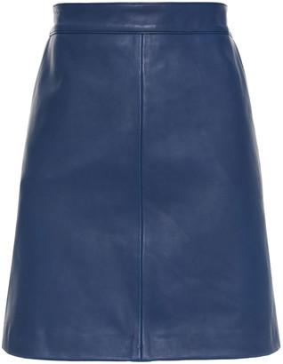 Paul Smith Leather Mini Skirt