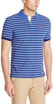 U.S. Polo Assn. Men's Slim Fit Micro Shadow Stripe Polo Shirt