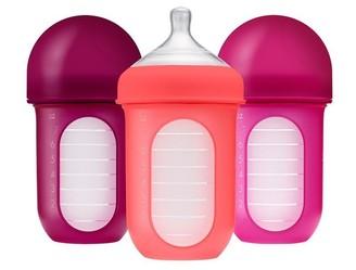 Boon NURSH 8oz Bottle 3pk - Pink Multi