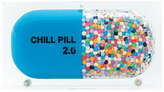 Sarah's Bag Confetti Chill Pill Clutch