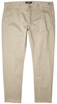 Johnny Bigg Big Tall Jim Slim Chino (Stone) Men's Casual Pants