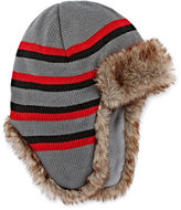 Asstd National Brand Charcoal Trapper Hat - Boys 8-20