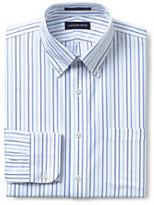 Classic Men's Slim Fit Pattern Supima No Iron Oxford-Lunar Navy