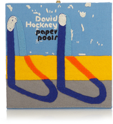 Olympia Le-Tan Paper Pools by David Hockney square box clutch