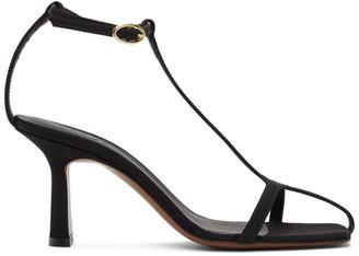 Neous Black Jumel 80mm Heeled Sandals