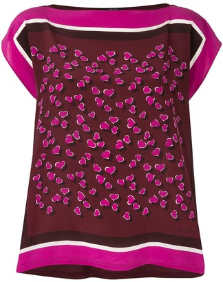Gucci Pre-Owned foulard print top