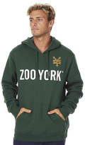 Zoo York Core Lock Up Mens Pop Hood Green