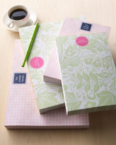 """Horchow Large """"Floral Paisley"""" Notepad"""