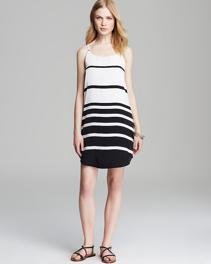 BB Dakota Dress - Variegated Stripe