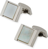 Bugatchi Square Mother-of-Pearl Cuff Links