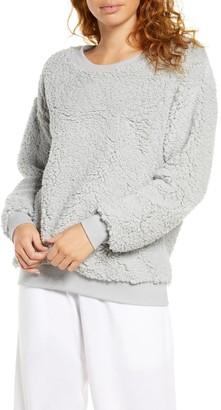 Socialite High Pile Fleece Sweatshirt