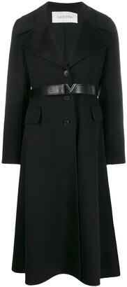 Valentino Cashmere Single-Breasted Coat