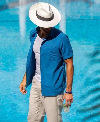 Cubavera Double Buttoned Pocket Shirt
