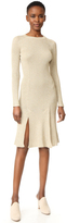 Cédric Charlier Long Sleeve Dress