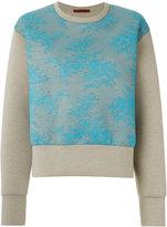 À La Garçonne - cropped sweatshirt - unisex - Cotton/Polyester - P