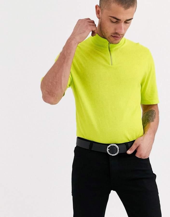 ebd40daa Mens Neon Green Shirt - ShopStyle