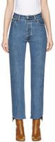 Vetements Blue Levis Edition Classic Reworked Denim Jeans