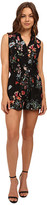 Rebecca Taylor Meadow Floral Print Sleeveless Romper