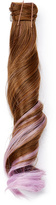 Hairdo. by Jessica Simpson & Ken Paves Ginger Brown & Lavender Wavy Ponytail Hair Extension