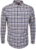 Original Penguin P55 Jaspe Plaid Check Shirt Green