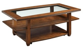 Ebern Designs Signorelli Coffee Table with Tray Top