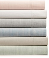 Hotel Collection Cotton 525-Thread Count 3-Pc. Yarn-Dyed Twin Sheet Set, Created for Macy's