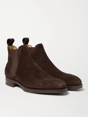 Edward Green Camden Cross-Grain Leather Chelsea Boots